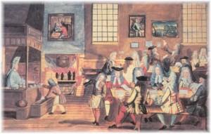 Cafenea_Londra_1660