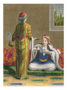 haussard-jean-baptiste-turkish-girl-having-coffee-on-the-sofa-18th-century