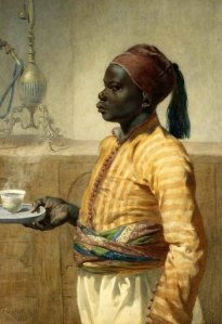 the-nubian-coffee-boy_Frederick_Goodall19th century